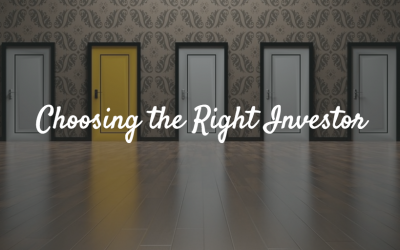 Choosing the Right Investor