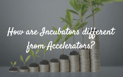 How are Incubators different from Accelerators?