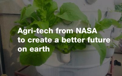 Agri-tech from NASA to create a better future on earth