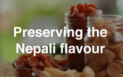 Preserving the Nepali flavour