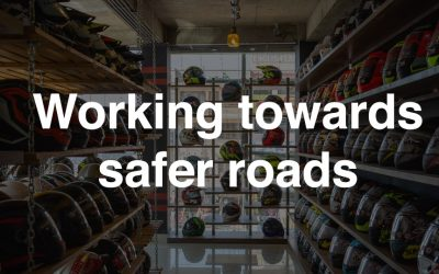 Working towards safer roads