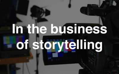 In the business of storytelling